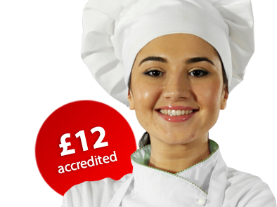 female chef smiling